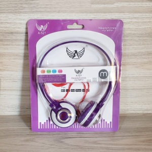 Headphone Altomex A521 Roxo e branco - foto capa
