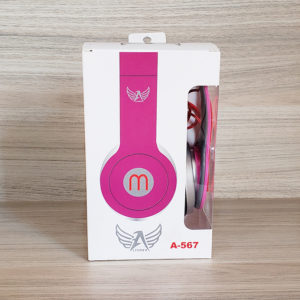 Headphone Altomex A567 Rosa - foto capa